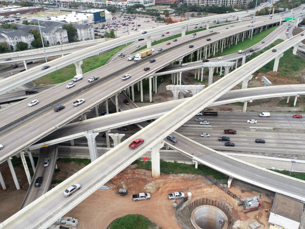 610 loop interchange Southwest Freeway Houston I-69