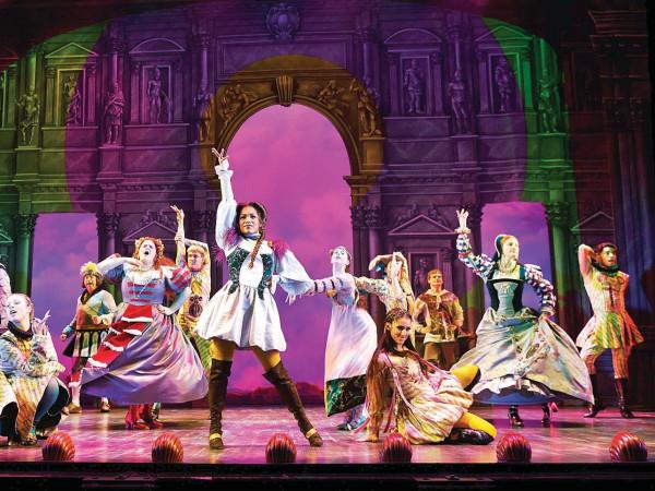 Head Over Heels on Broadway
