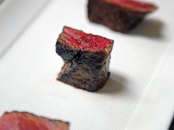 Austin Simmons Tris HeartBrand Beef steak flight