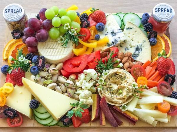 Spread & Co. cheese boards