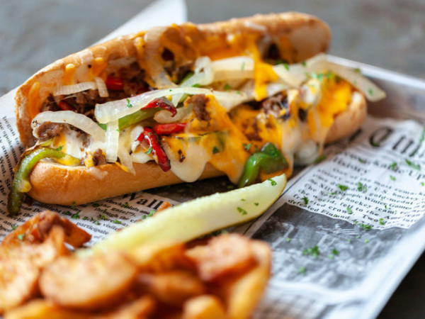 Lambeau's Philly cheesesteak