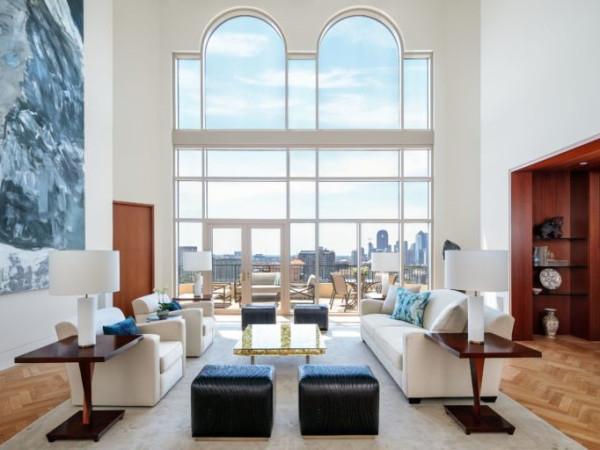 Hall penthouse 2828 Hood St.