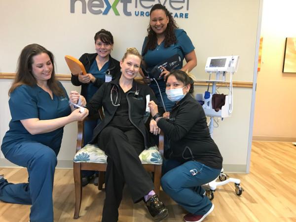 Next Level Urgent Care employees