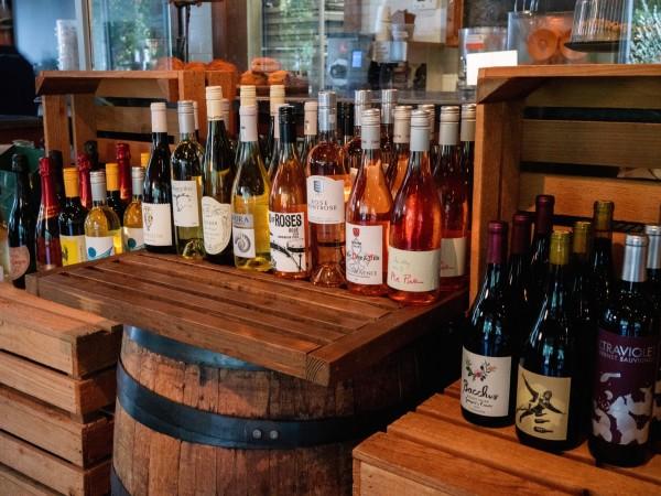 Revival Market wine selection