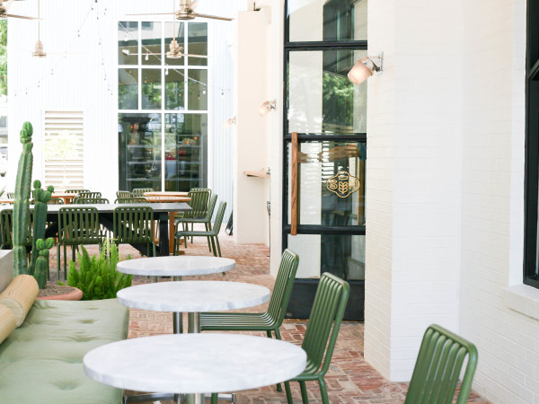Swedish Hill patio