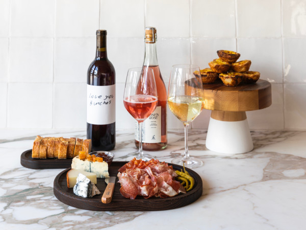Montrose Cheese & Wine mixed spread