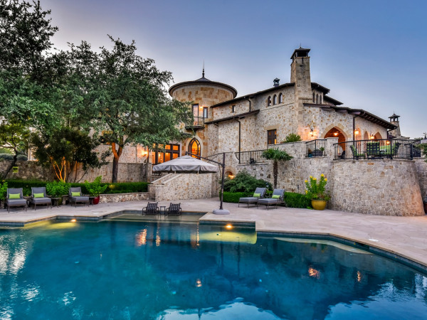 2401 Portofino Ridge Dr. austin most expensive house