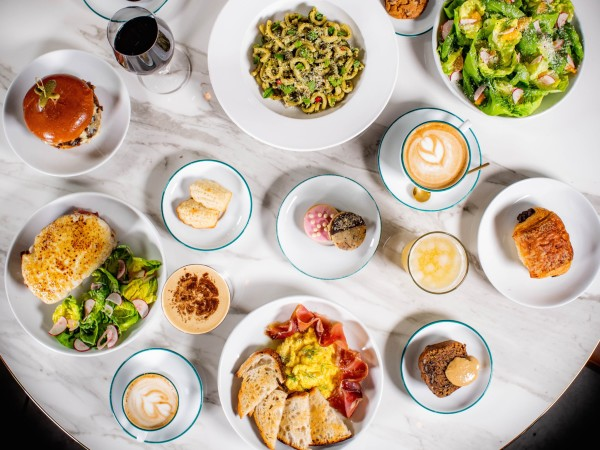 Coterie Adam Dorris food spread