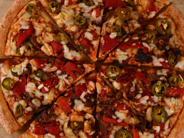 Killen's barbecue Papa John's pulled pork pizza