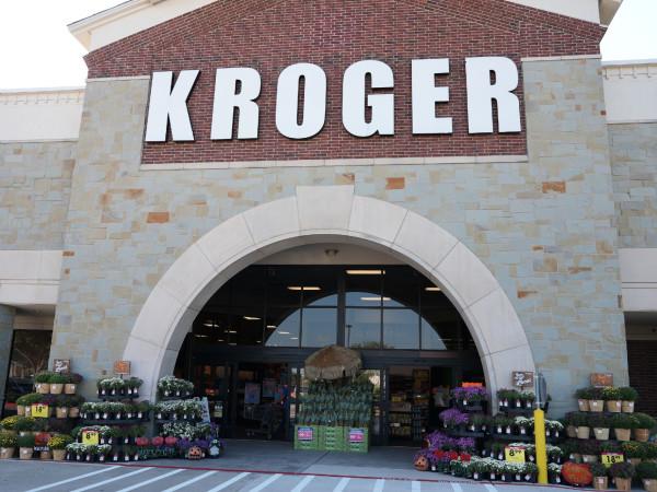 Kroger shelves