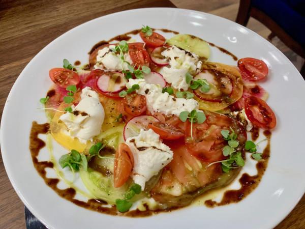 Savoir tomato carpaccio