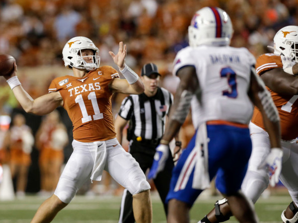 Sam Ehlinger Texas Longhorns Louisiana Tech