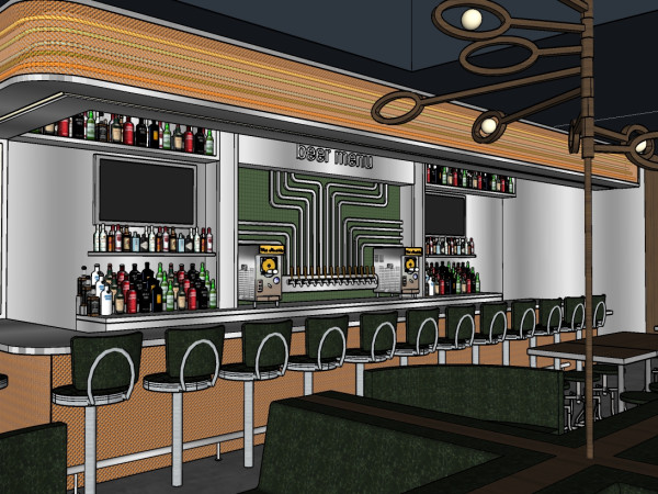 FM Kitchen & Bar Montrose rendering