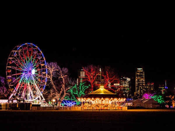 Austin Trail of Lights holiday displays