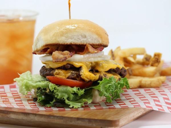 Johnny B's burger