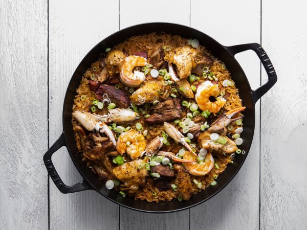 One Fifth Gulf Coast pork, chicken and shrimp jambalaya