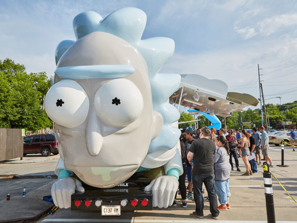 Rick and Morty Rickmobile