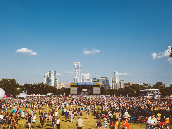 Austin City Limits Music Festival 2019 skyline stage zilker park