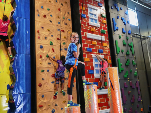 Urban Air Adventure Park climbing walls
