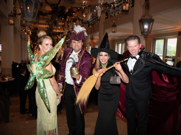 Children's Museum of Houston gala 2019 Gala Co-Chairs Lyndsey and Bret Zorich and Ashley and Walter Weathers