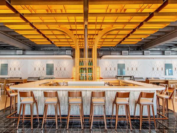 Politan Row bar interior