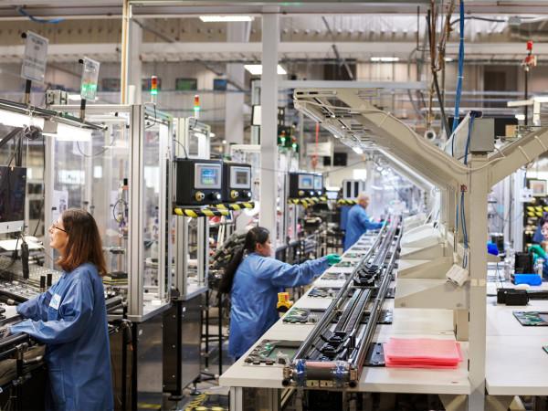 Apple factory Austin