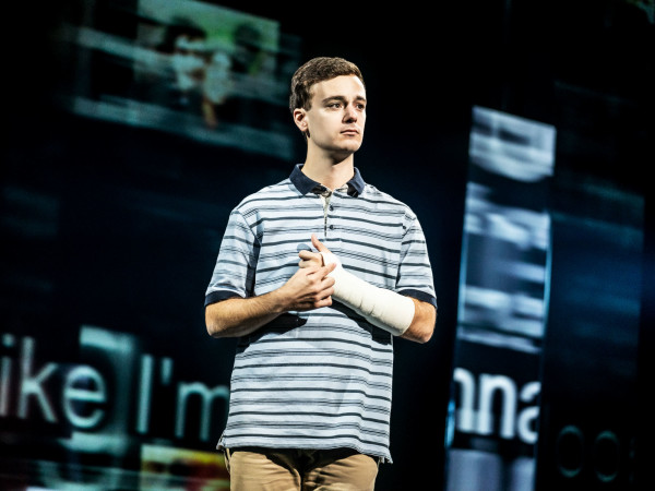Stephen Christopher Anthony in Dear Evan Hansen.