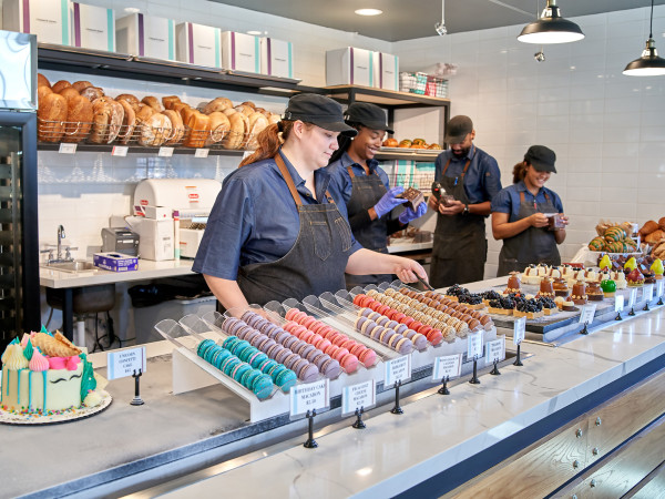 Common Bond Heights pastry counter