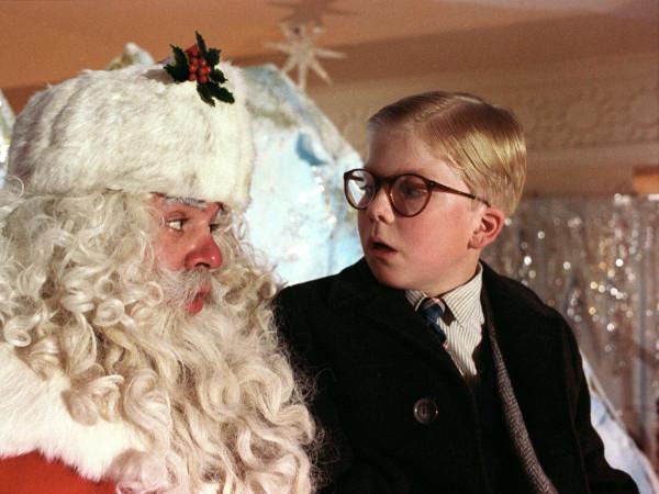 A Christmas Story Ralphie Santa
