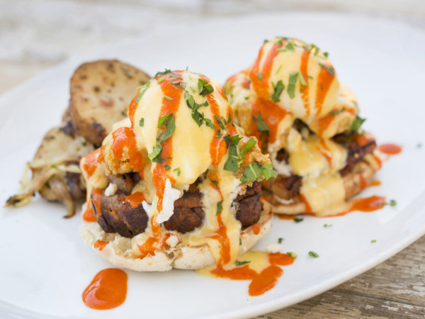 B&B Butcher Carpet Bagger Eggs Benedict