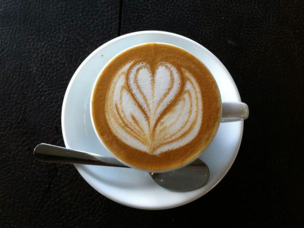 Blacksmith coffee latte art