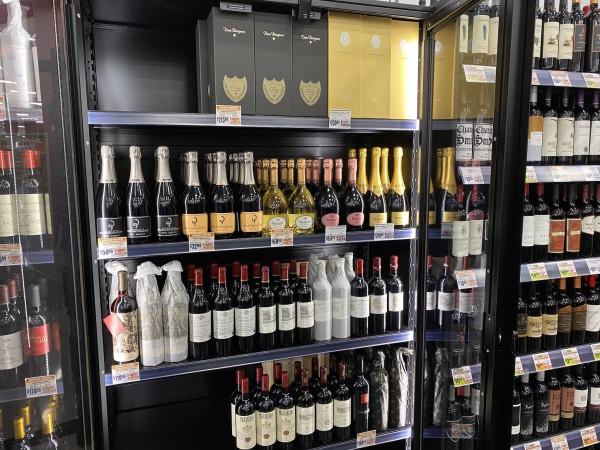 H-E-B Meyerland Market high end wines