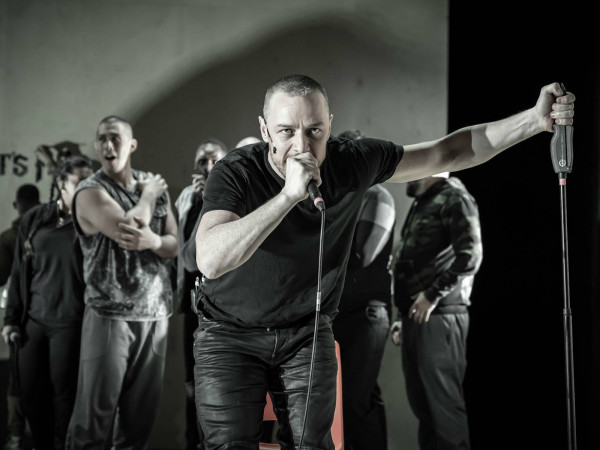James McAvoy in Cyrano