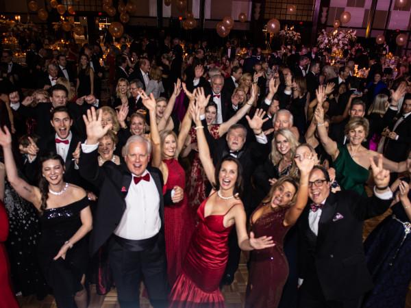 Heart Ball 2020 dance floor