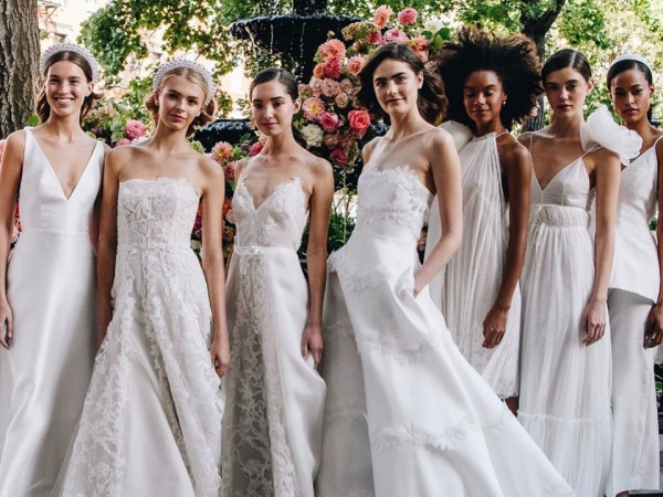Lela Rose bridal