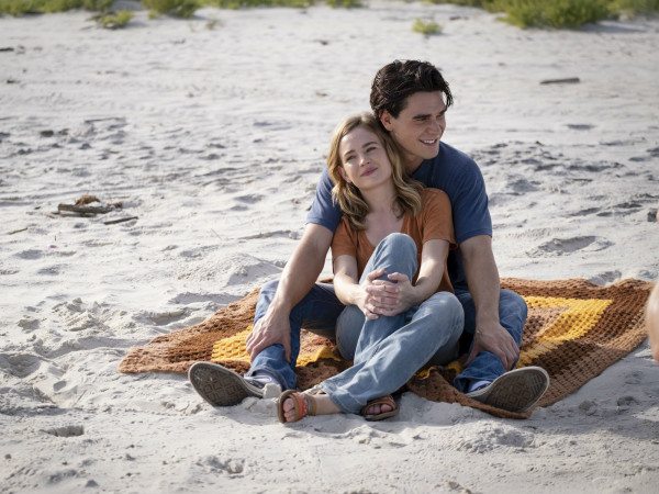 Britt Robertson and K.J. Apa in I Still Believe