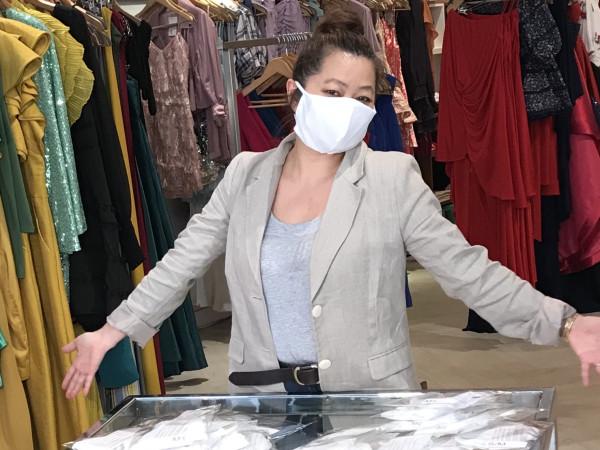 Chloe Dao COVID-19 face mask