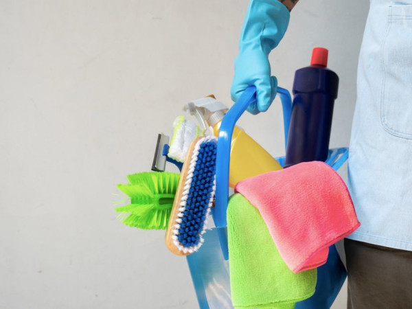 Cleaning supplies for housekeeping