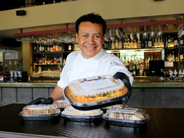 Hugo Ortega H-E-B takeaway meals
