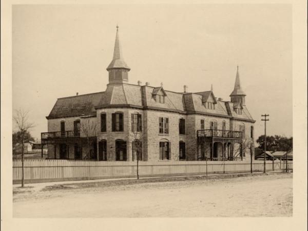 City Hospital original Brackenridge Hospital