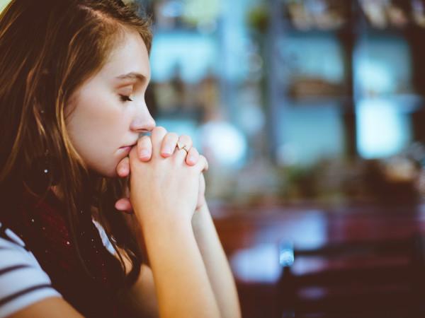 praying woman prayer