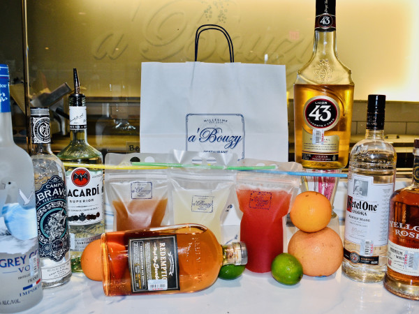 a'Bouzy cocktail to go kit