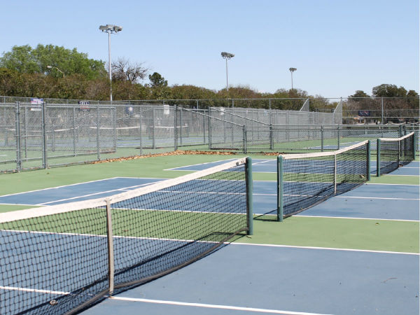Fair Oaks Tennis Center court Dallas