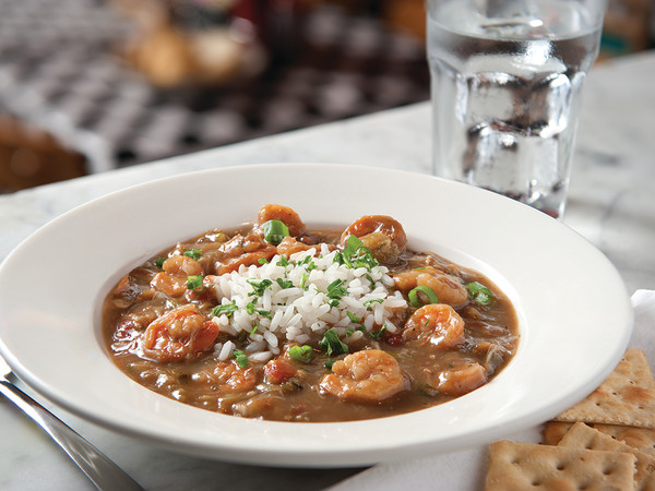 Acme Oyster House seafood gumbo