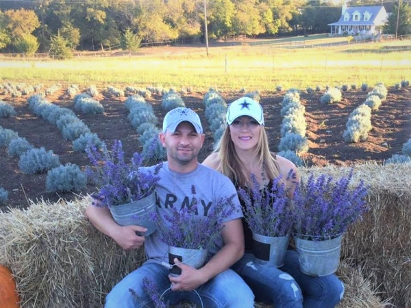 AJ and Lenda Fidelman, Fields of Fidelis lavender farm
