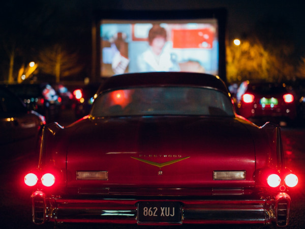 Drive-In Theater Spring