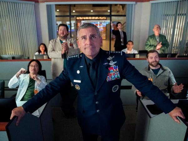 Space Force Netflix Steve Carell