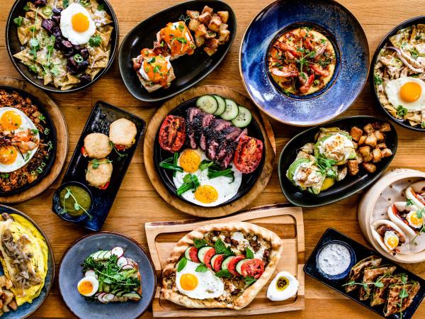 Traveler's Table brunch spread