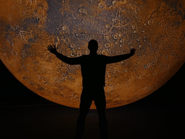 Mars by Luke Jerram