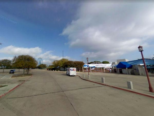 Fair Park parking lot